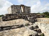 A Temple Atop the Oval Palace, Mayan Ruins, Ek Balam, Yucatan, Mexico, North America Photographic Print by Balan Madhavan