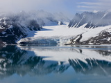 Glacier, Spitzbergen, Svalbard, Norway, Arctic, Scandinavia, Europe Photographic Print by Thorsten Milse