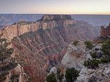 View From Cape Royal at Dusk, North Rim, Grand Canyon National Park, Arizona, USA Photographic Print by James Hager