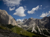 The Catinaccio, Rosengarten Mountain Range, Dolomites, Eastern Alps, South Tyrol, Italy, Europe Photographic Print by Carlo Morucchio