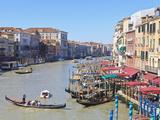 Grand Canal, Venice, UNESCO World Heritage Site, Veneto, Italy, Europe Photographic Print by Amanda Hall
