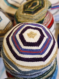 Kippas, Safed, Israel, Middle East Photographic Print