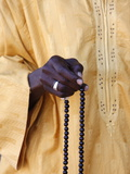 Muslim With Prayer Beads, Abene, Casamance, Senegal, West Africa, Africa Photographic Print