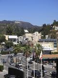 Oscars Billboard, Hollywood Sign, Hollywood, Los Angeles, California Photographic Print