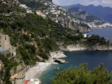 View of the Amalfi Coast Around Amalfi, Campania, Italy, Europe Photographic Print by Olivier Goujon