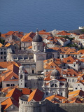 Dubrovnik, UNESCO World Heritage Site, Croatia, Europe Photographic Print by John Miller