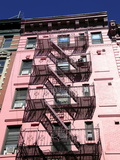 Tenement Building, Fire Escape, Soho, Manhattan, New York City, USA Photographic Print by Wendy Connett