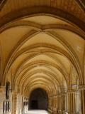 Royaumont Abbey Cloister, Asnieres-Sur-Oise, Val D'Oise, France, Europe Photographic Print