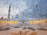 Sheikh Zayed Bin Sultan Al Nahyan Mosque, Abu Dhabi, United Arab Emirates, Middle East Photographic Print by Gavin Hellier