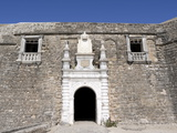 Entrance to San Sebastian Fort Built in 1558, Mozambique Island, Mozambique, Africa Fotografisk tryk