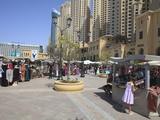 The Walk at Jumeirah Beach Residence, Dubai Marina, Dubai, United Arab Emirates, Middle East Photographic Print by Amanda Hall