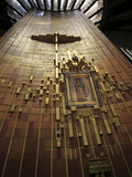 Shroud of Our Lady of Guadalupe, Modern Or New Basilica, Our Lady of Guadalupe, Mexico City, Mexico Photographic Print by Wendy Connett