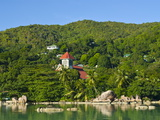 Church in the Tropical Forest on the Island of Praslin, Seychelles, Indian Ocean, Africa Photographic Print