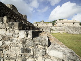 Steps to the Oval Palace, Mayan Ruins, Ek Balam, Yucatan, Mexico, North America Photographic Print by Balan Madhavan