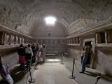 Terracotta Telamons in the Tepidarium in the Forum Baths, Pompeii, UNESCO World Heritage Site Photographic Print