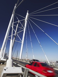 Cars Crossing Nelson Mandela Bridge, Newtown, Johannesburg, Gauteng, South Africa, Africa Photographic Print