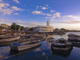 The Old Harbor of Moroni, Grand Comore, Comoros, Indian Ocean, Africa Photographic Print