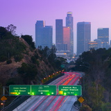 Route 110, Los Angeles, California, United States of America, North America Photographic Print