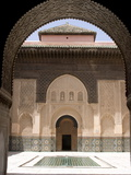 Medersa Ben Youssef, Marrakech, Morocco, North Africa, Africa Photographic Print