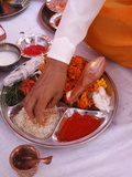 Offerings For Puja in a Hindu Temple, Haridwar, India, Asia Photographic Print