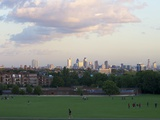 London Skyline From Hampstead Heath, London, England, United Kingdom, Europe Photographic Print by Michael Kelly