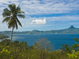 View Over the Island of Grand Terre, French Departmental Collectivity of Mayotte, Indian Ocean Photographic Print