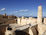 Ribat (Fortress) on Mediterranean Coast, Monastir, Tunisia, North Africa, Africa Photographic Print by Dallas & John Heaton