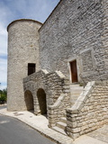 La Cavalerie Fortified Village, Aveyron, Massif Central, France, Europe Photographic Print