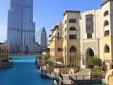 The Palace Hotel and Burj Khalifa, Downtown, Dubai, United Arab Emirates, Middle East Photographic Print by Amanda Hall