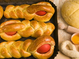 Titole, Sweet Bread With Egg, An Italian Dish For Easter Day, Friuli-Venezia Giulia, Italy, Europe Photographic Print