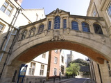 Bridge of Sighs, Oxford, Oxfordshire, England, United Kingdom, Europe Lámina fotográfica