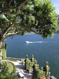 View From Villa Balbianello, Lenno, Lake Como, Lombardy, Italy, Europe Photographic Print by Vincenzo Lombardo