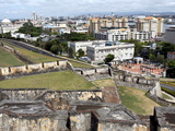 San Cristobal Castle, Former Spanish Fortress, San Juan, Puerto Rico, West Indies, Caribbean Photographic Print by Sylvain Grandadam
