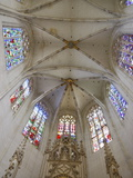 Clery-Saint-Andre Basilica Chancel, Clery Saint Andre, Loiret, France, Europe Photographic Print