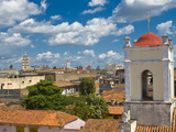 View Over Camaguey, Cuba, West Indies, Caribbean, Central America Photographic Print