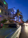 Ocean Drive, Miami Beach, Florida, USA Photographic Print by Angelo Cavalli