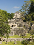 Great Plaza, North Acropolis, Tikal, UNESCO World Heritage Site, Tikal National Park, Guatemala Photographic Print