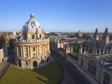 Radcliffe Camera and All Souls College, Oxford University, Oxford, England Photographic Print