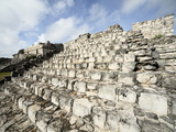 The Twin Pyramids, Mayan Ruins, Ek Balam, Yucatan, Mexico, North America Photographic Print by Balan Madhavan