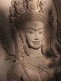 Apsara, Siem Reap, Cambodia, Indochina, Southeast Asia, Asia Photographic Print