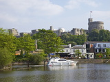 River Thames and Windsor Castle, Windsor, Berkshire, England, United Kingdom, Europe Photographic Print by Peter Barritt