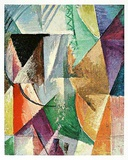 Ein Fenster, c.1912-13 Prints by Robert Delaunay