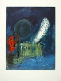 Die Akropolis Collectable Print by Marc Chagall