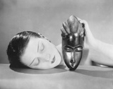 Man Ray - African Mask Obrazy