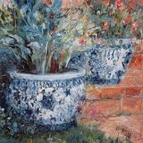 Porcelain Pots 8922 Kunstdruck von Henrietta Milan