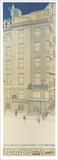 Postsparkasse, Vienna Prints by Otto Wagner