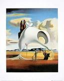 Vestiges atavique après sa pluie Prints by Salvador Dalí