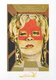 Face of Mae West Posters par Salvador Dalí