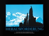 Herausforderung Poster