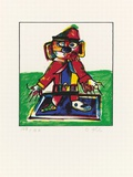 Struwelpeter, c.1993 Limited Edition by Otmar Alt